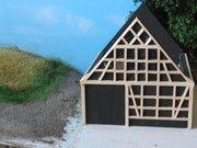 rohbau aus karton und balsa. Black Bedroom Furniture Sets. Home Design Ideas